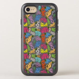 BONK ZAP CRASH Pattern OtterBox Symmetry iPhone 7 Case