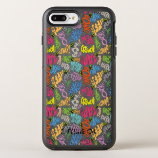 BONK ZAP CRASH Pattern OtterBox Symmetry iPhone 7 Plus Case