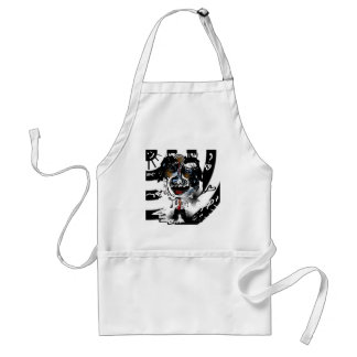bonkers in love adult apron