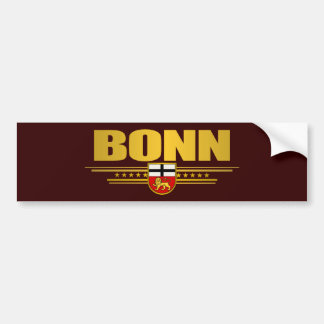 Bonn 2 car bumper sticker