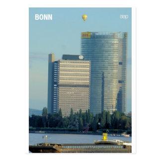 Bonn, Germany, the Rhine River Postcard