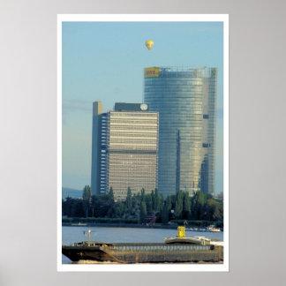 Bonn, Germany, the Rhine River Poster