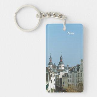 Bonn Single-Sided Rectangular Acrylic Keychain