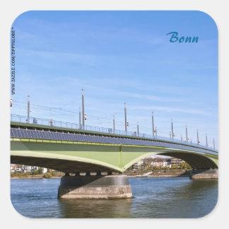 Bonn Square Sticker