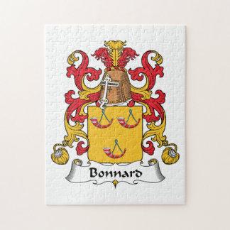Bonnard Family Crest Jigsaw Puzzles