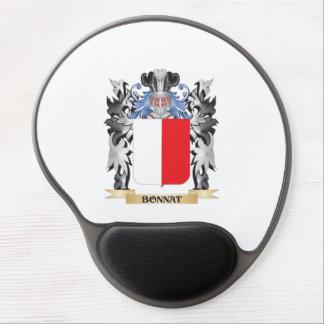 Bonnat Coat of Arms - Family Crest Gel Mouse Pad