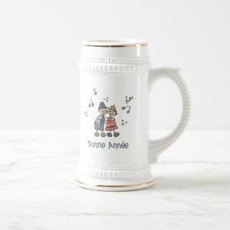 Bonne Annee Beer Stein