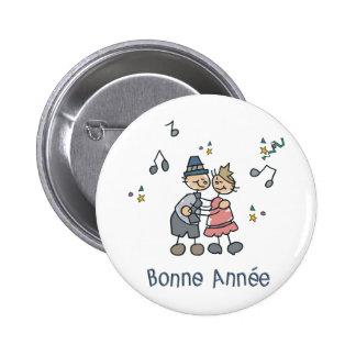 Bonne Annee Button