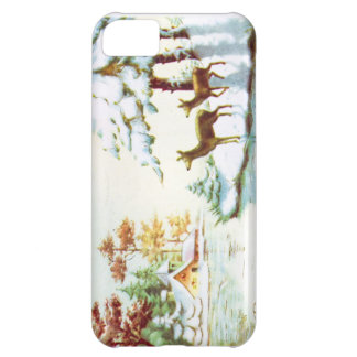 Bonne Annee Deer In The Snow Case For iPhone 5C