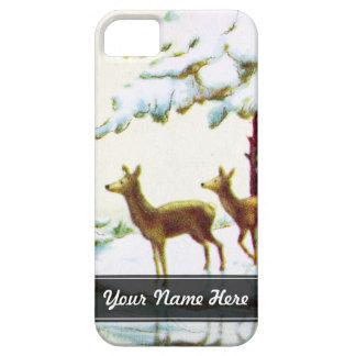 Bonne Annee Deer In The Snow iPhone 5 Case