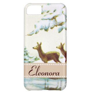 Bonne Annee Deer In The Snow iPhone 5C Case