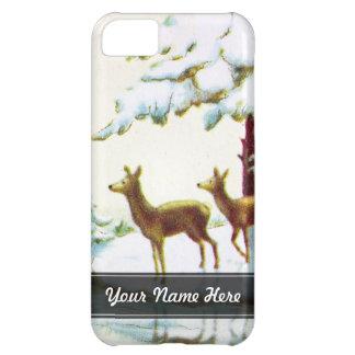 Bonne Annee Deer In The Snow iPhone 5C Cover