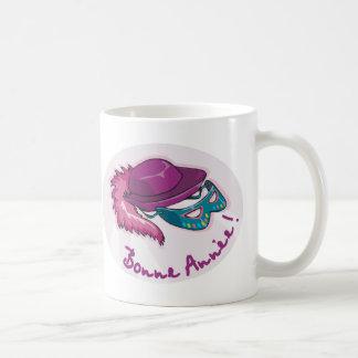 Bonne Annee Fancy Dress Coffee Mug