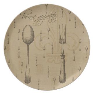Bonne Appetite Melamine Plate