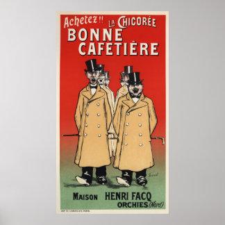 Bonne Cafetiere Poster