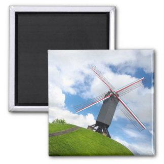 Bonne Chiere Windmill Magnet: Brugge Magnet