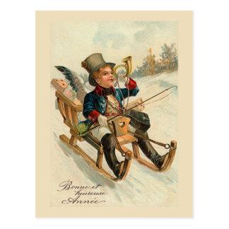 """Bonne et heureuse Annee"" New Year Card"