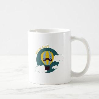 Bonne Nuit Classic White Coffee Mug