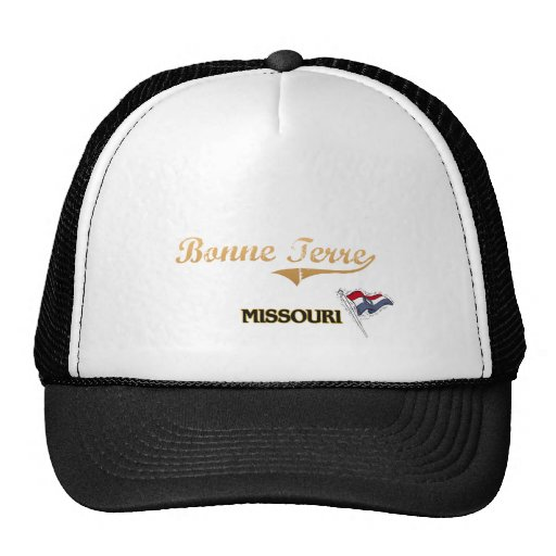 Bonne Terre Missouri City Classic Mesh Hats