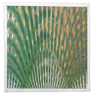 BonneAppetit - gráfico de la pluma del pavo real Servilletas Imprimidas