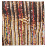 BonneAppetit - Handknotted Durry Fabric Pattern Cloth Napkins