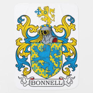 Bonnell Family Crest Baby Blanket