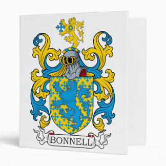 Bonnell Family Crest Binder