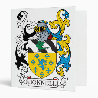 Bonnell Family Crest Binders
