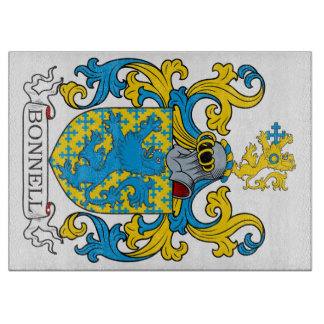 Bonnell Family Crest Cutting Boards