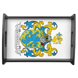 Bonnell Family Crest Service Tray