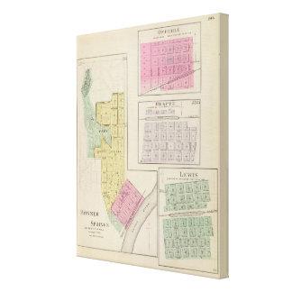 Bonner Springs, Belpre, Lewis, Kansas Canvas Print