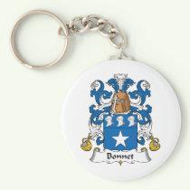 Bonnet Family Crest Keychain