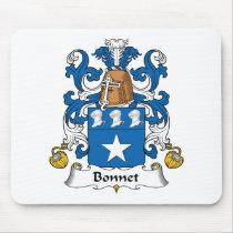 Bonnet Family Crest Mousepad
