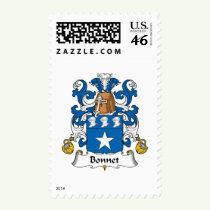 Bonnet Family Crest Stamps