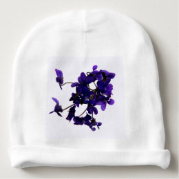Bonnet of baby Violets Baby Beanie