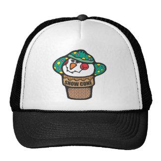 Bonnet Wearing Snow Cone Trucker Hat