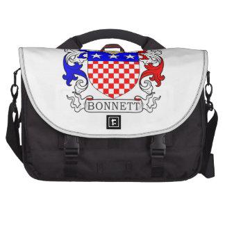 Bonnett Coat of Arms (Irish) Laptop Bags