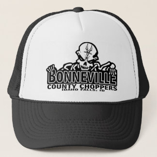 Bonneville County Choppers Skully hat