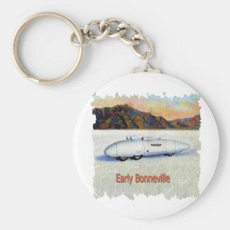 Bonneville Keychain
