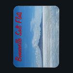 "Bonneville Salt Flats Magnet<br><div class=""desc"">Bonneville Salt Flats - salted desert ,  Utah</div>"