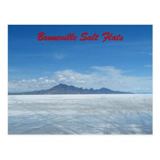 Bonneville Salt Flats Postcard
