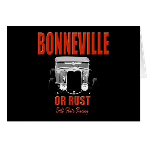 bonneville salt flats racing card