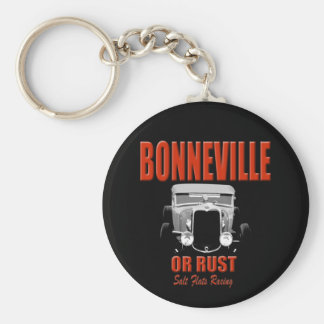 bonneville salt flats racing keychain