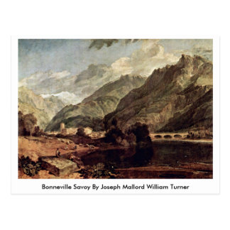 Bonneville Savoy By Joseph Mallord William Turner Postcards