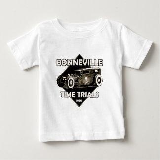 Bonneville Time trials-1950-Vintage.png Infant T-shirt