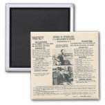 bonnie and clyde fbi poster magnet