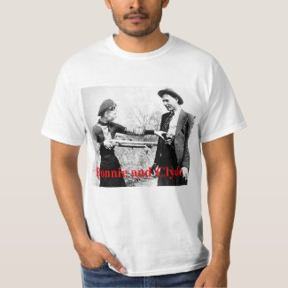 Bonnie and Clyde Star Crossed Lovers or What T-Shirt