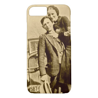 Bonnie and Clyde - The Barrow Gang iPhone 8/7 Case