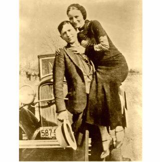 Bonnie and Clyde - The Barrow Gang Acrylic Cut Out