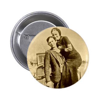 Bonnie and Clyde - The Barrow Gang Pinback Button